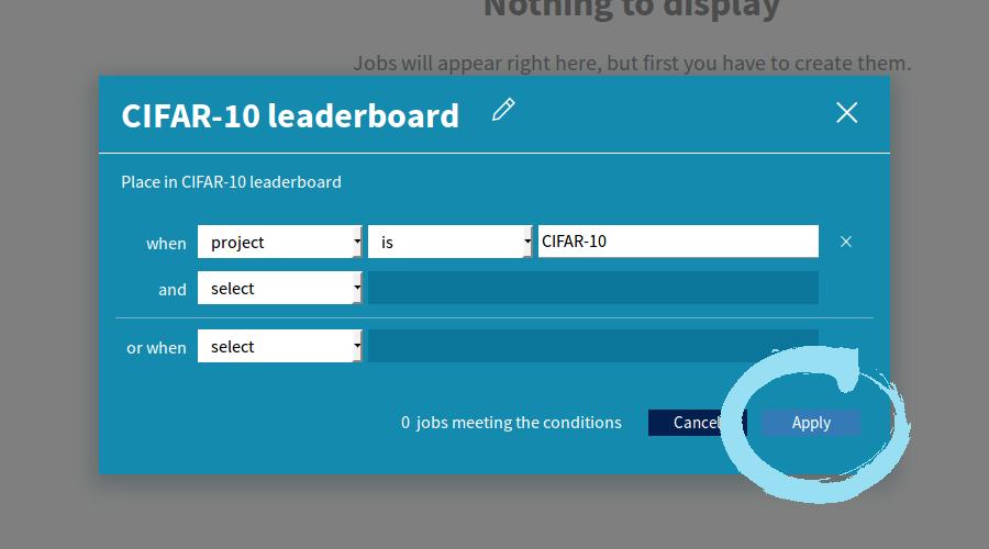 An internal validation leaderboard inNeptune 3