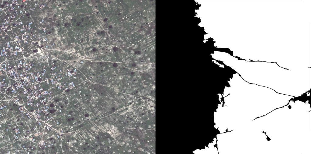 Crops detection insatellite imagery.