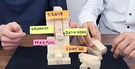 Deep Learning metaphors - ConvNet layers as Jenga blocks