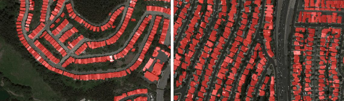 Satellite images semantic segmentation with deep learning