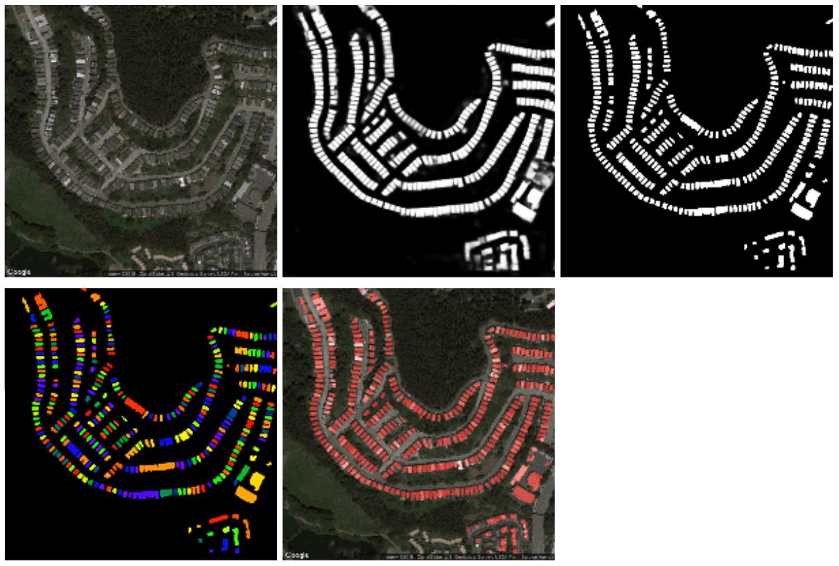 Satellite images semantic segmentation with deep learning 7