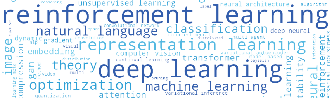 Key findings from the International Conference on Learning Representations (ICLR)