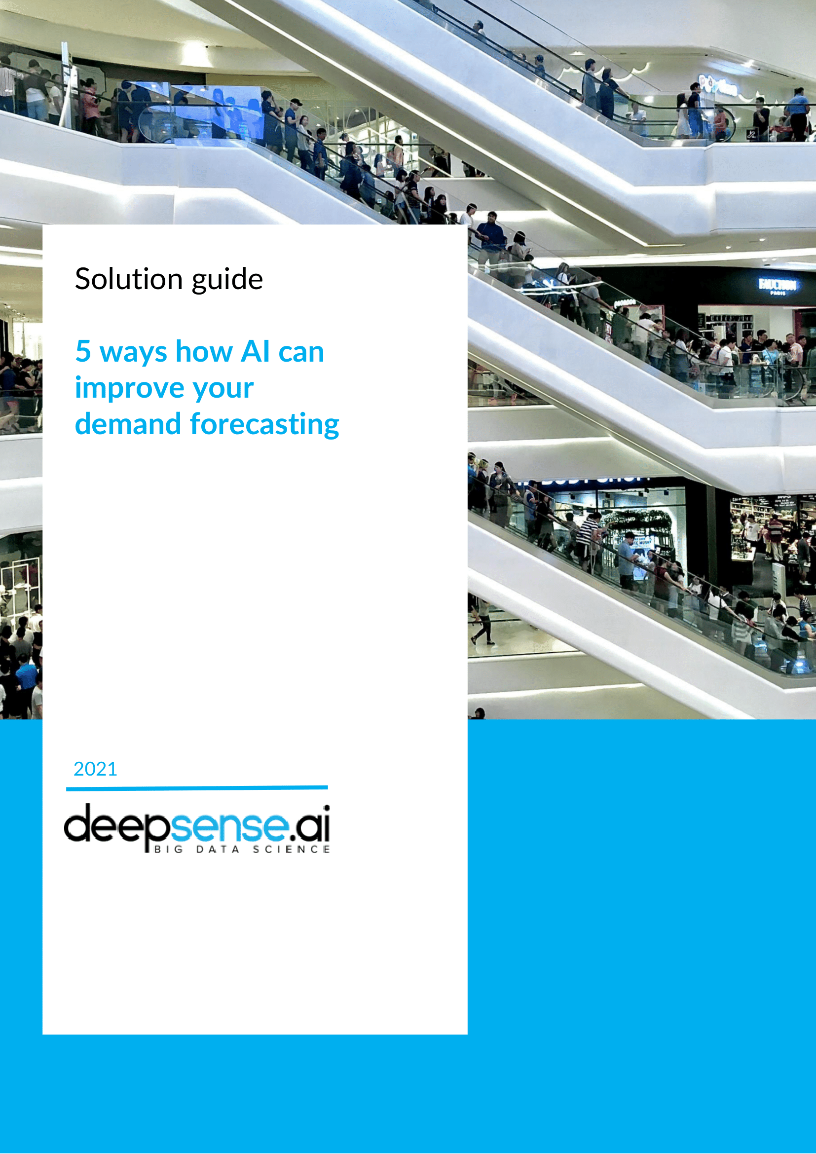 5 ways how AI can improve your demand forecasting